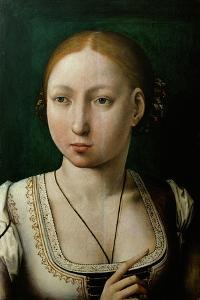 Juana the Mad (1473-1555) by Juan de Flandes