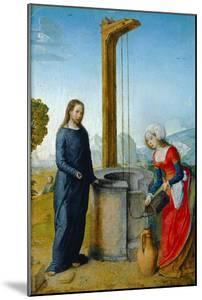 Le Christ et la Samaritaine by Juan de Flandes
