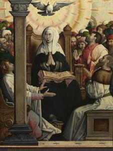 Pentecost by Juan de Flandes