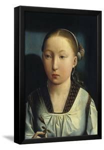 Portrait of Catherine of Aragon, C. 1496 by Juan de Flandes