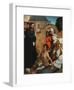 Raising of Lazarus by Juan de Flandes