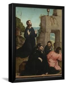 The Agony in the Garden by Juan de Flandes
