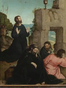 The Agony in the Garden by Juan de Flandes