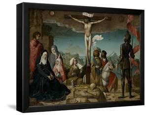 The Crucifixion, 1509 by Juan de Flandes