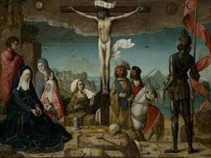 The Crucifixion, 1509 by Juan de Flandes