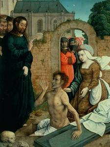 The Resurrection of Lazarus by Juan de Flandes