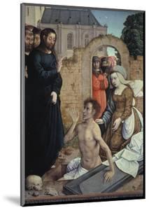 The Resurrection of Lazarus by Juan de Flandes
