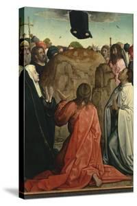 The Resurrection by Juan de Flandes