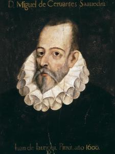 Miguel De Cervantes Saavedra by Juan De Jauregui Y Aguilar