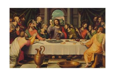 'La Sagrada Cena', (he Last Supper), 1562, (c1934)