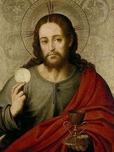 The Saviour, 1545-1550 by Juan De juanes