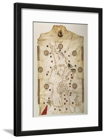 19th Century Copy of the Nautical Planisphere, 1500