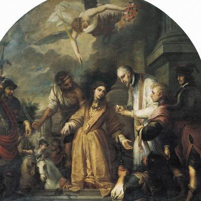 Last Communion of Saint Agatha