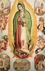 The Virgin of Guadalupe by Juan de Villegas
