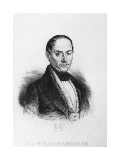 Juan Eugenio Hartzenbusch--Giclee Print