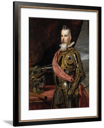 Juan Francisco de Pimentel, Count of Benavente, c.1648-Diego Velazquez-Framed Giclee Print