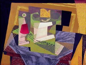 Composition on a Table, 1916 by Juan Gris