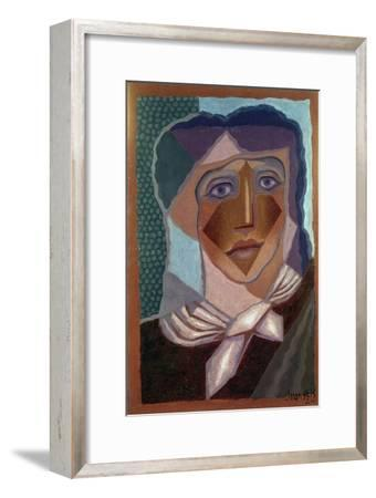 Femme à L'écharpe (Woman with Neck Scarf), 1924