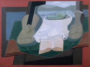 Guitar and Fruitbowl by Juan Gris