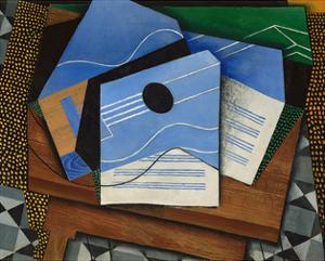 Guitar on a Table, 1915 by Juan Gris