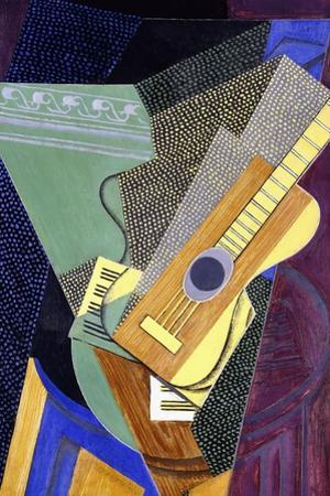 Guitar on a Table; Guitare Sur Une Table, 1916 by Juan Gris