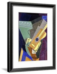 Guitar on a Table; Guitare Sur Une Table, 1916 by Juan Gris
