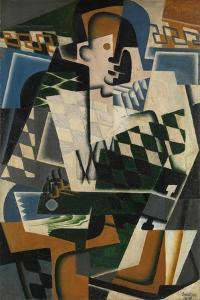 Harlequin with a Guitar, 1917 by Juan Gris