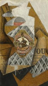 La Bouteille D'Anis (The Bottle of Anís Del Mono) by Juan Gris