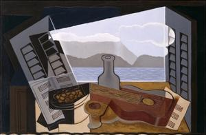 La Fenetre Ouverte (The Open Window) by Juan Gris