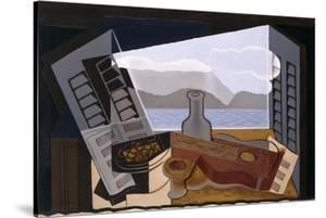 La Fenetre Ouverte (The Open Window) by Juan Gris
