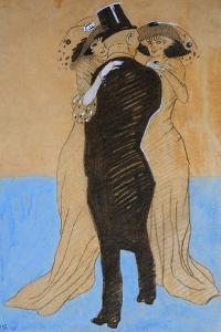 La Flatterie, 1908 by Juan Gris