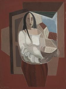 La Liseuse, 1926 by Juan Gris