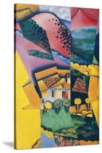 Landscape at Ceret, 1913 by Juan Gris