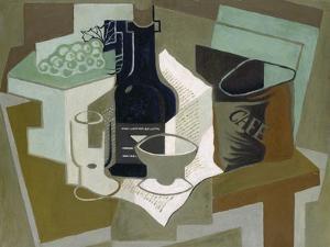Le Sac De Café, 1920 by Juan Gris
