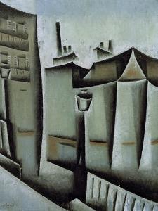 Maisons à Paris (Houses in Paris), 1911 by Juan Gris