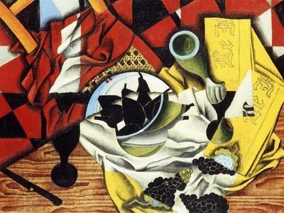 Pears and Grapes on a Table; Poires et Raisins Sur Une Table, 1913