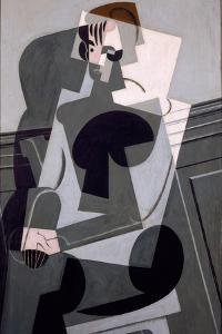 Portrait De Madame Josette Gris, 1916 by Juan Gris