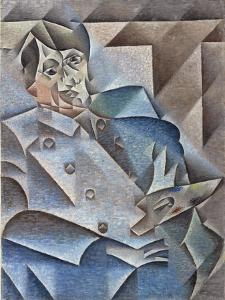 Portrait of Pablo Picasso, January-February 1912 by Juan Gris