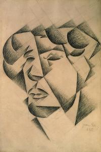 Self Portrait, 1912 by Juan Gris