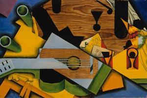 Still Life with a Guitar, 1913 by Juan Gris