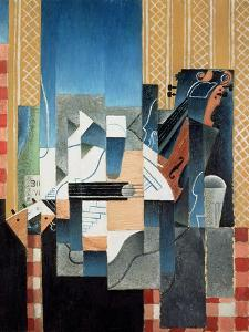 Still Life with Violin and Guitar, 1913 by Juan Gris