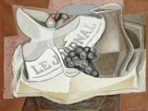 The Bunch of Grapes; La Grappe de Raisins, 1925 by Juan Gris