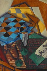 The Chess-Board, 1914 by Juan Gris