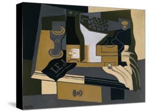 The Coffee Grinder by Juan Gris