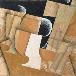 The Glass by Juan Gris