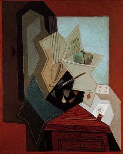 The Painter's Window by Juan Gris