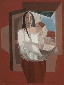 The Reader; La Liseuse, 1926 by Juan Gris