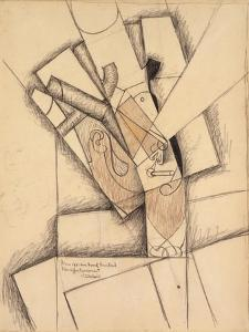 The Smoker, 1913 by Juan Gris