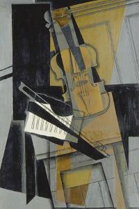 The Violin (Le Violon), 1916 by Juan Gris