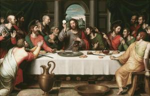 Last Supper by Juan Juanes